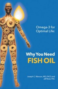 Maroon Fish Oil Book